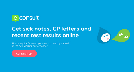 Get sick notes, GP letters and recent test results online